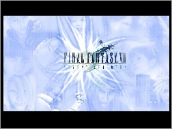 Ff 7 Advent Children, napis, postacie